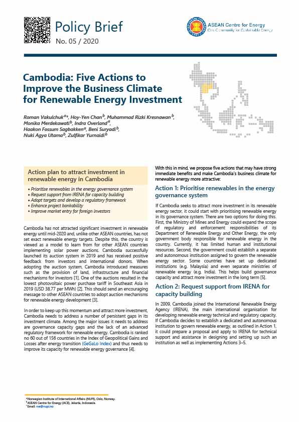 RE Investment Series - Cambodia