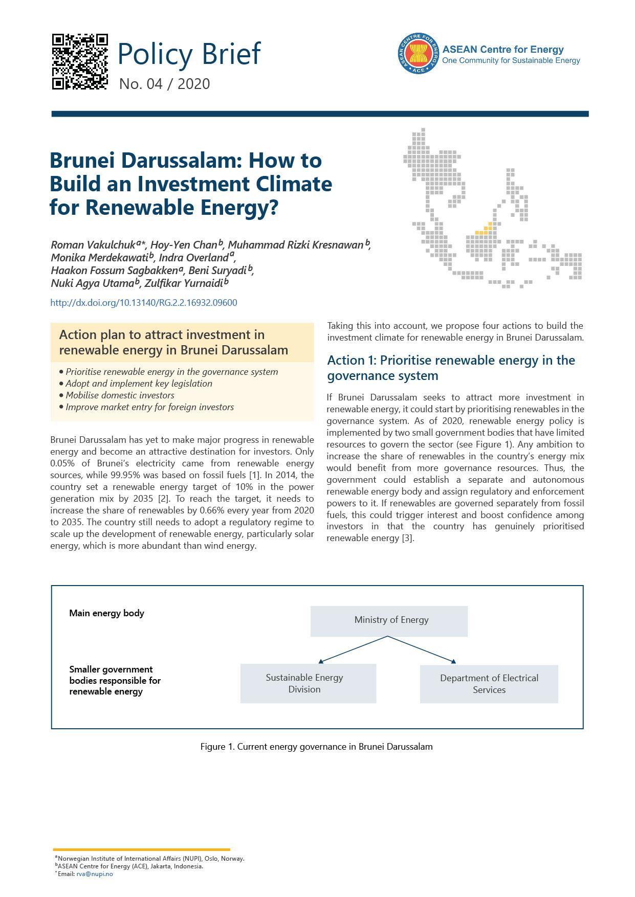 RE Investment Series - Brunei Darussalam