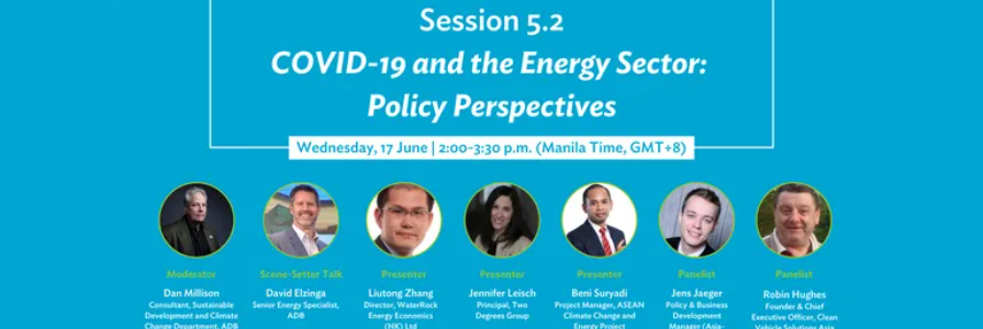 COVID-19 and the Energy Sector: Policy Perspectives