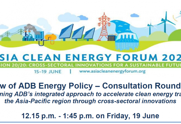 ACCEPT Input and Intervention at Review of ADB Energy Policy