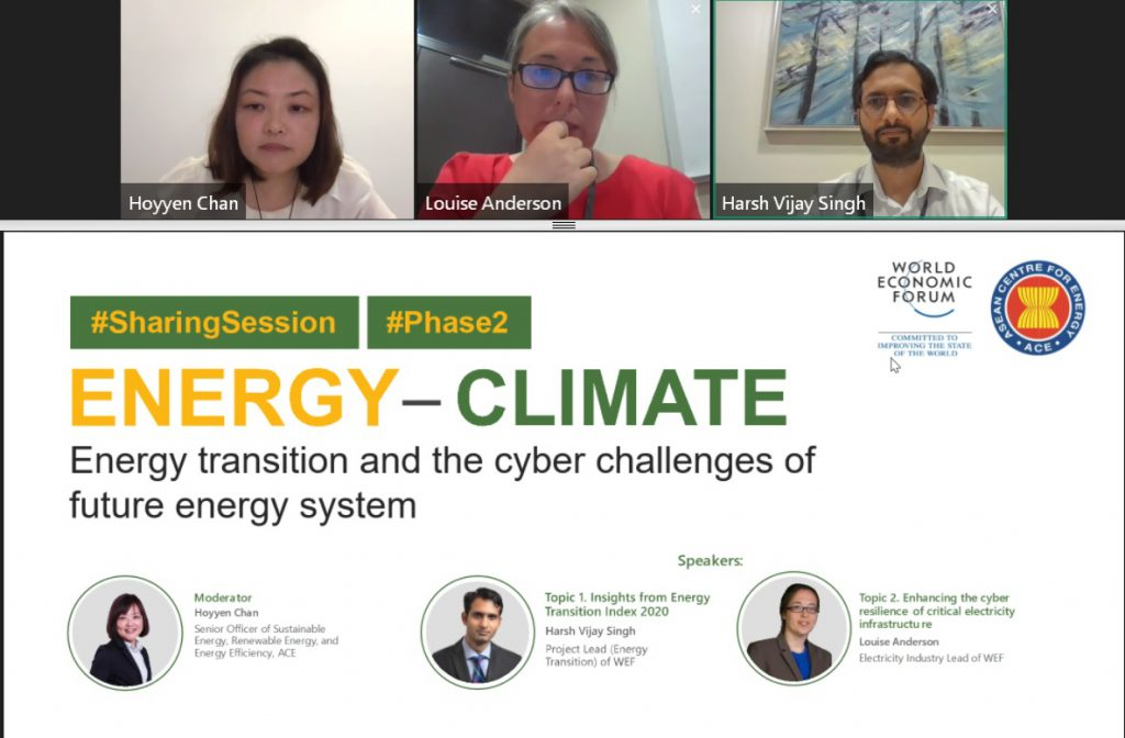 Energy Transition and the Cyber Challenges of Future Energy System Sharing Session