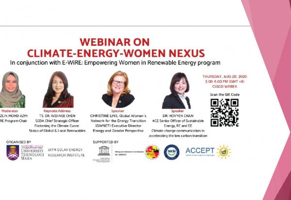 climate energy women