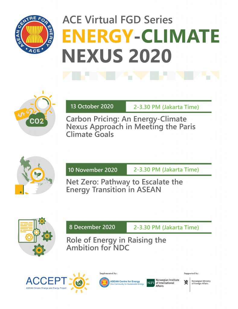 Carbon Pricing: An Energy-Climate Nexus Approach in Meeting the Paris Climate Goals