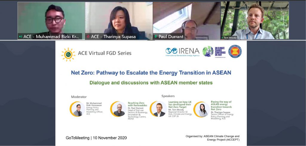 Net Zero to Escalate the Energy Transition in ASEAN