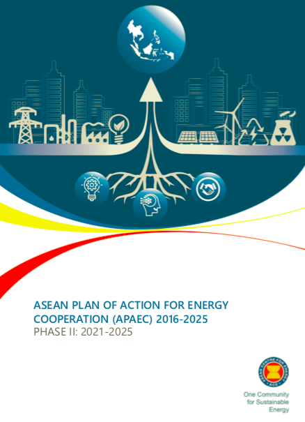 ASEAN Plan of Action and Energy Cooperation (APAEC) Phase II: 2021 – 2025