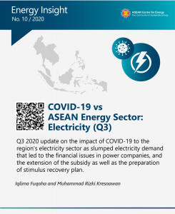 Q3 COVID-19 vs ASEAN Energy Sector: Electricity