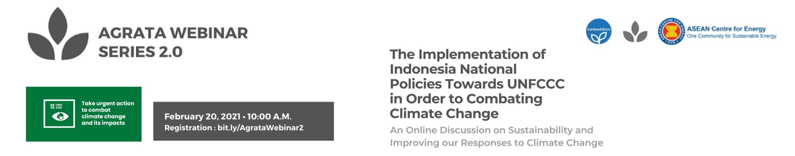 The Implementation Of Indonesia National Policies Towards UNFCC in Order to Combating Climate Change