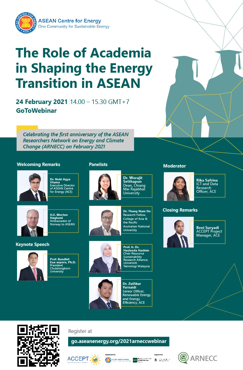 The Role of Academia in Shaping the Energy Transition in ASEAN