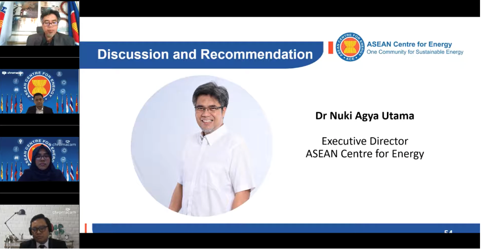 Discussion and Recommendation Led by Dr. Nuki Agya Utama