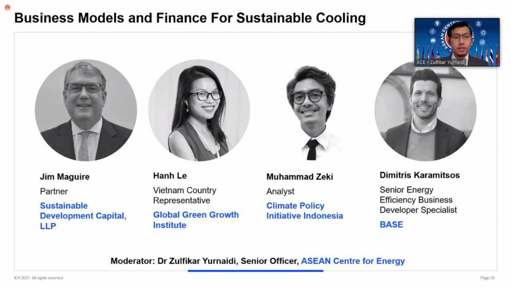 Roadmaps Towards Sustainable and Energy Efficient Buildings and Cooling in Southeast Asia