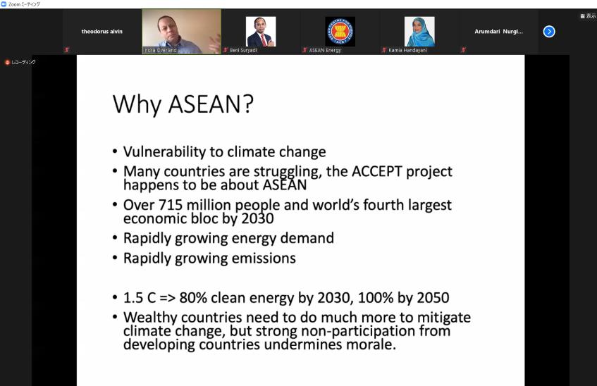 Why ASEAN_ARNECC Paper Talks #1