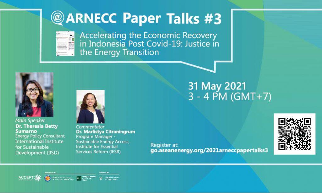 ARNECC Paper Talks #3 Registration