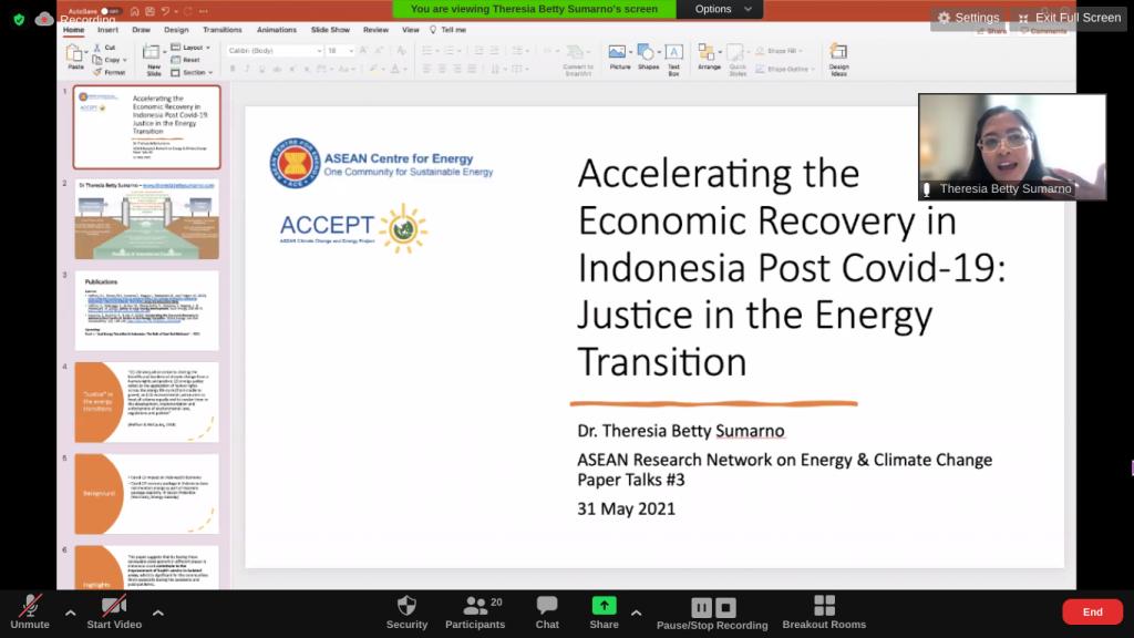 ARNECC Paper Talks #3
